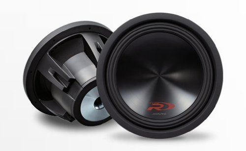 "Pair of Alpine SWR-12D4 (swr12d4) 12"" Dual 4 Ohm Type-R Series Car Subwoofers"