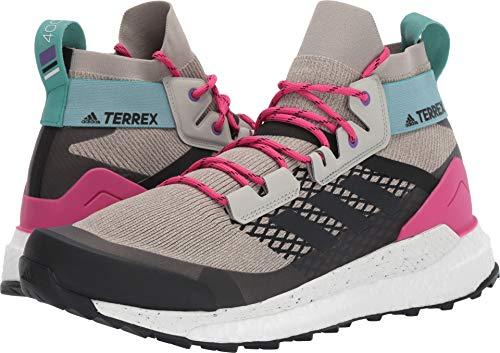 adidas outdoor Terrex Free Hiker Boot - Men's Sesame/Raw White/Real Magenta, -