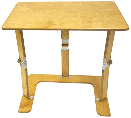 Golden Oak Desk (Spiderlegs Folding Couch Desk Tray Table, 25-Inch, Golden Oak)