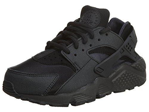 Nike Wmns Luft Huarache Løp 634835-009 Trippel Svart Kvinners Sko Størrelse  5.5