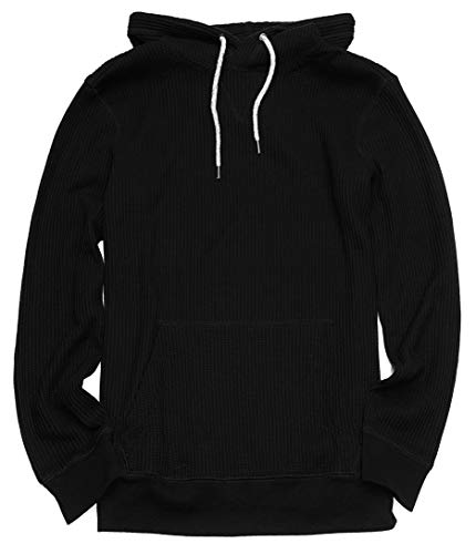 (American Eagle Men's Waffle Popover Hoodie M-14 (X-Small,)