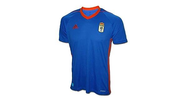adidas Ro H JSY Camiseta de Equipación-Real Oviedo Sad, Hombre ...