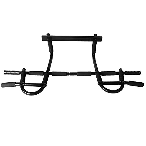 Multi Grip Workout Chin Up/Pull Up Bar, Heavy Duty Doorway Trainer for Home Office Gym Up to 360 LBS