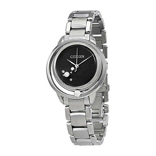 Ladies' Citizen Eco-Drive L Sunrise Solitaire Watch EW5520-50E
