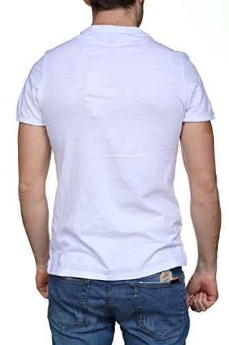 Canotte Bradley T Uomo K6xn0 shirt Bianco M82i10 E Guess qYHxzSEFwE