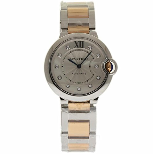 Cartier Ballon Bleu 36mm swiss-automatic womens Watch WE902031 (Certified Pre-owned)