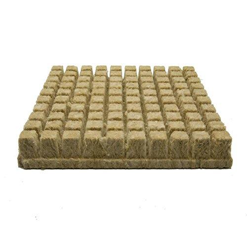 Grodan Rockwool Cubes (1 inch) 100 Cubes