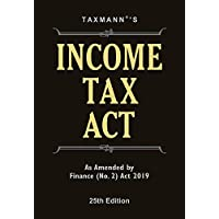 Income Tax Act (Pocket)-As Amended by Finance (No. 2) Act 2019 (25th Edition 2019)