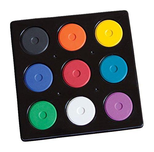 (Jack Richeson Mini Tempera 9 Color Set in Tray)