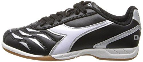 Diadora Capitano ID JR Indoor Soccer Shoe, Black/White, 3.5 M US Big Kid by Diadora (Image #5)