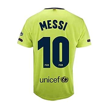 Camiseta 2ª equipación del FC. Barcelona 2018-2019 - Replica Oficial Licenciado - Dorsal