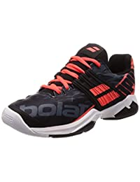 Babolat Propulse Fury AC Mens Tennis Shoe (Black/Red)