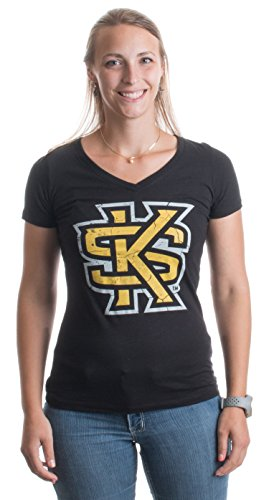 Kennesaw State University | KSU Owls Vintage Style Ladies' V-neck T-shirt
