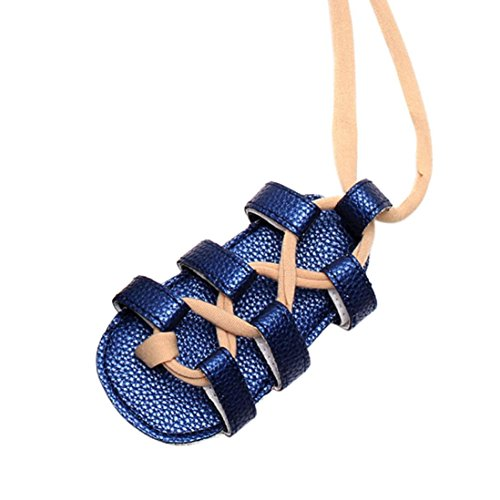 wuayi Mädchen Baby-Schuhe Blau
