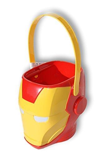 Marvel Avengers Iron Man Helmet Bucket Easter Basket]()