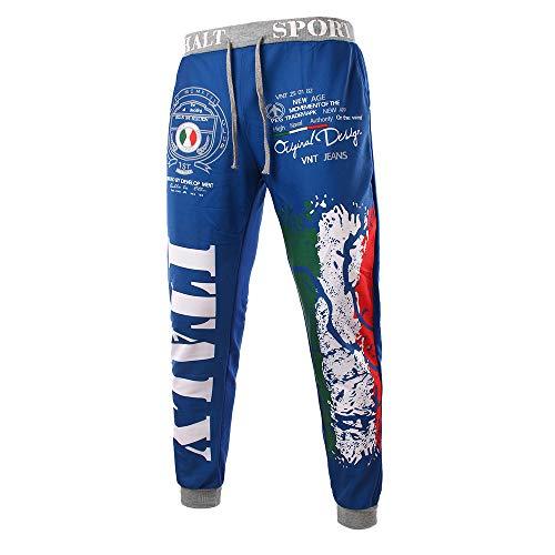 Uomo Pantaloni Hxcqgbfd Trousers Laterali Autunno Stile Della Moda 8BHnqY
