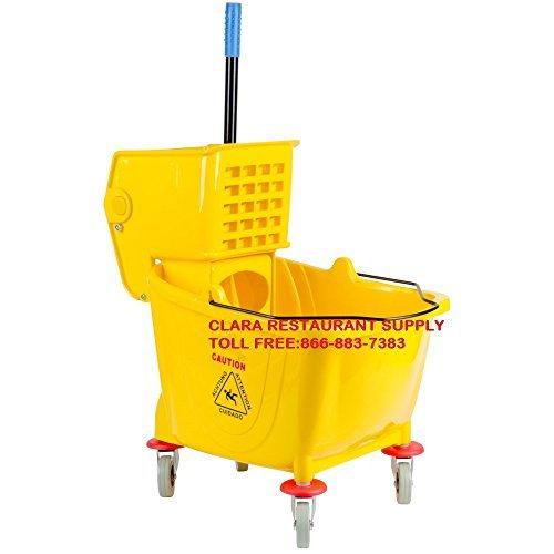 36 Quart Mop Bucket & Wringer Combo by P&W ()