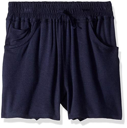 - Splendid Girls' Big Super Soft French Terry Short, Navy, 14