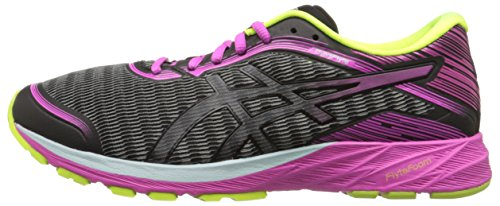 ASICS Dynaflyte Black Women's 5 Pink US M Safety Running Yellow Glow Shoe 7 qqIrx5dA