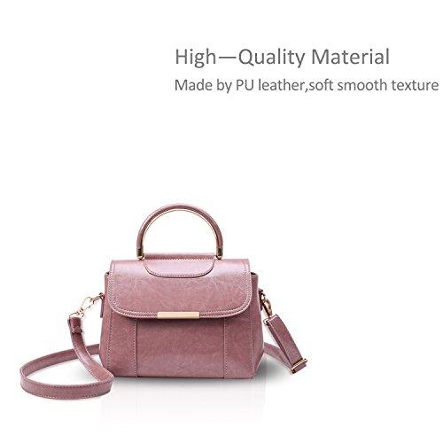 Pu Doris Women Bag Nicole Shoulder Crossbody amp; Bag New Messenger Pink Fq6Pa60w