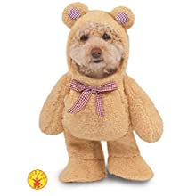Walking Teddy Bear Pet Suit, X-Large