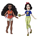 Disney Princess Ralph Breaks The Internet Movie Dolls, Moana and Snow White Dolls with Comfy Clothes and Accessories
