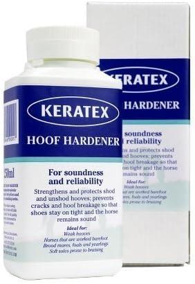 Endurecedor Keratex casco cascos débiles o frágiles - hace fuerte y sano - 250 ml