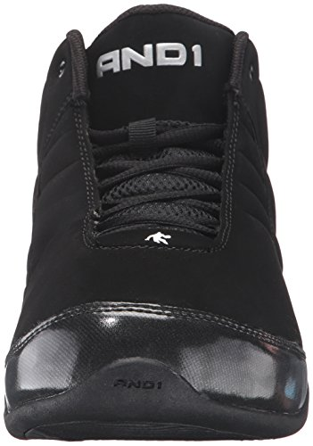 E 1 Mens Rocket 3.0 Mid Basketball Scarpa Black / Black_003