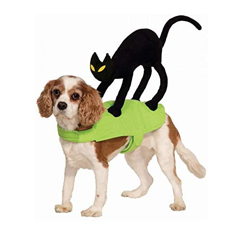KathShop Cat On My Back Shape Dog Rider Costume Clothes Pet Halloween Cat Clothes Small Medium -