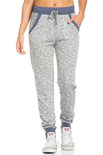 Sweatpants 3 - My Yuccie Women's French Terry Sweatpants with Side Pockets, Small, Navy 3