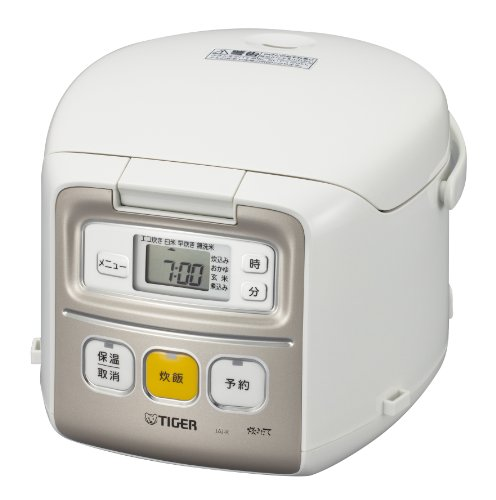 TIGER small capacity microcomputer rice cooker JAI-R550-W 3 ‡ white JAI-R550-W Review