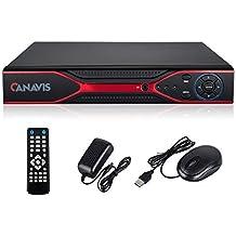CANAVIS AHD 8CH 960H 5-in-1 H.264 CCTV 1080P Security Surveillance DVR Video Recorder System for VGA/ HDMI/ BNC, No HDD