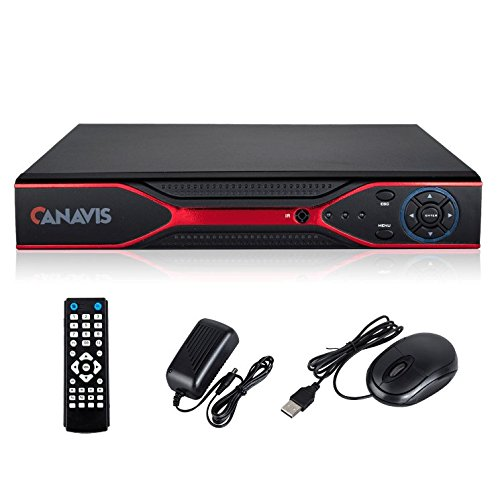 CANAVIS AHD 8CH 960H 5-in-1 H.264 CCTV 1080P Security Surveillance DVR Video Recorder System for VGA/ HDMI/ BNC, No HDD
