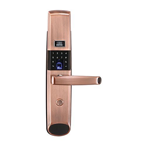 OPPEIN Smart Electronic Door Lock with Slider and OLED ()