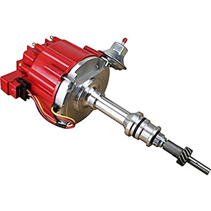 Dragon Fire High Performance Race Series Complete HEI Electronic Ignition  Distributor Compatible Replacement For EFI to Carbureted Conversion on  302ci