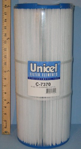 Unicel C-7370 Replacement Filter Cartridge for 75 Square Foot Sundance - Square Sundance