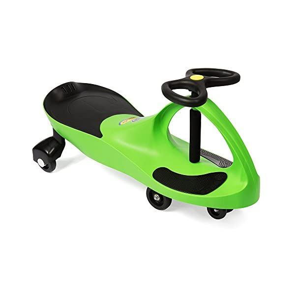 41OeFQpE11L. SS600  - The Original PlasmaCar by PlaSmart – Lime – Ride On Toy, Ages 3 yrs and Up, No batteries, gears, or pedals, Twist, Turn…