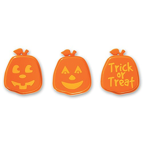 DecoPac Pumpkin Faces Cupcake Rings (12 Count)]()