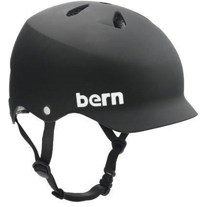 Bern(バーン) WATTS Matte Black S:53.5-55.5   B00HPPDODS