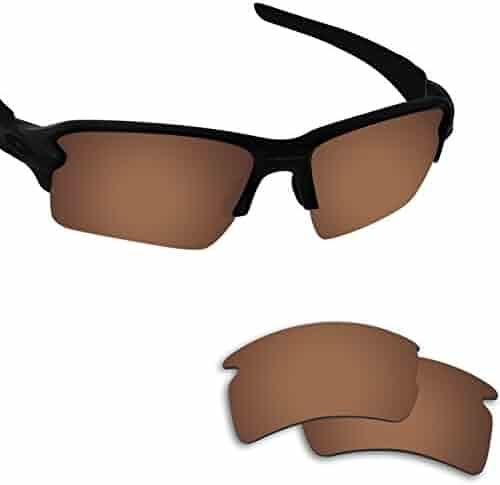 b27ee42eb9 Fiskr Anti-saltwater Replacement Lenses for Oakley Flak 2.0 XL Sunglasses -  Various Colors
