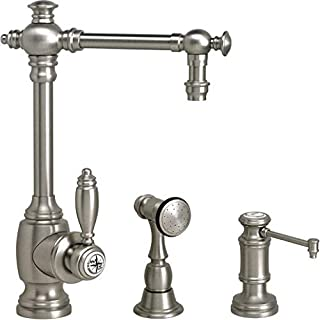 product image for Waterstone 4700-2-BLN Towson Prep Faucet 2pc. Suite Black Nickel