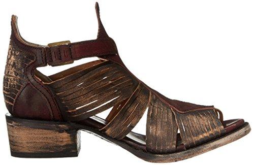 Freebird Womens Arrow Huarache Sandale Marron / Multi