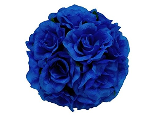 Kissing X Balls 4 (4 X Hi Honey!Kissing Balls - Royal Blue Roses)