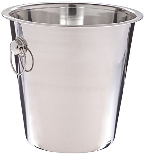 Winco WB-4 4 Quart Wine Bucket by Winco