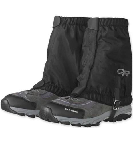 Outdoor Research Rocky Mountain Low Gaiters, Black,, used for sale  Delivered anywhere in USA
