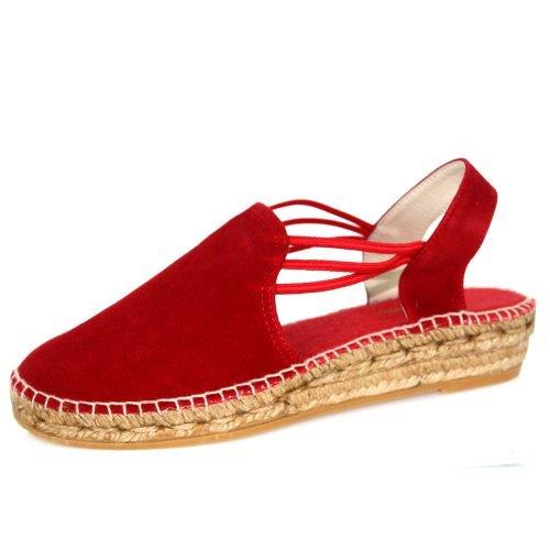 Women's Toni Sandals Nuria Red Pons Bwx6vq58