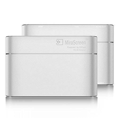 Innens Lightning/Type C/Micro USB to HDMI +VGA +Audio Dual D