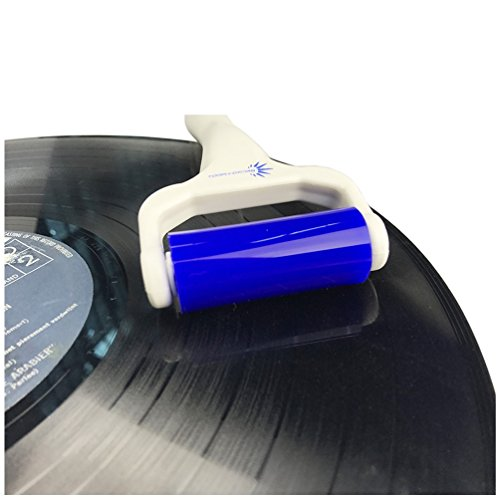 Precious Album (Vinyl Record Deep Cleaning Roller – Reusable Antistatic LP Album Cleaner and Microfiber Cloth by Record-Happy for a Complete and Throughout Maintenance of Your Precious Vintage Collection)