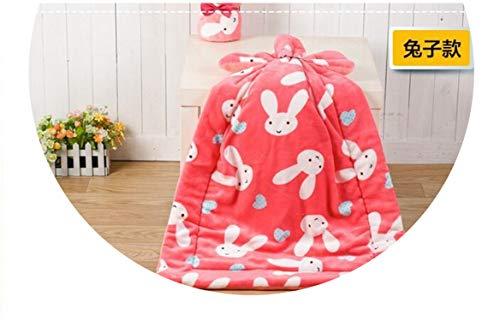 1pcs Pet Dog Bed Blanket Cushion Mat Pad Dog Cat Kennel Crate Soft Sleeping House,Pink Rabbit,M 81x64cm