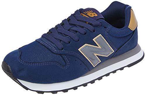 Tênis Casual, New Balance, New Balance 500 Feminino, Azul (HGG), 39